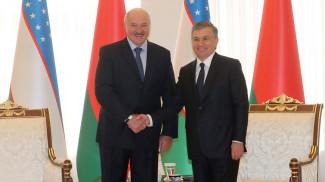 Александр Лукашенко и Шавкат Мирзиёев. Фото из архива
