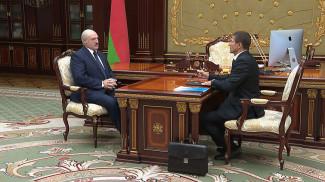 Александр Лукашенко и Андрей Павлюченко