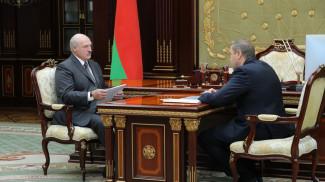 Александр Лукашенко и Владимир Караник