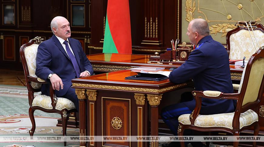 Александр Лукашенко и Иван Носкевич