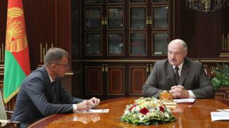 Андрей Кунцевич и Александр Лукашенко