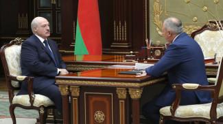 Александр Лукашенко и Сергей Румас