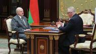 Александр Лукашенко и Игорь Карпенко