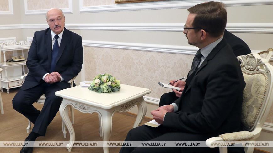 Александр Лукашенко и Томас Гремингер