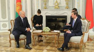 Александр Лукашенко и Дэвид Хэйл