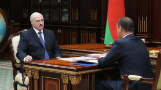 Александр Лукашенко и Роман Головченко