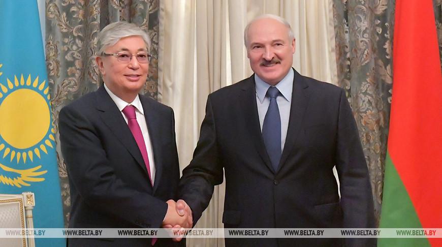 Касым-Жомарт Токаев и Александр Лукашенко