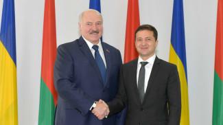 Александр Лукашенко и Владимир Зеленский