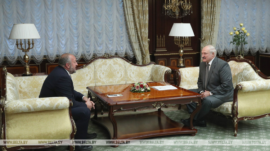 Георгий Маргвелашвили и Александр Лукашенко