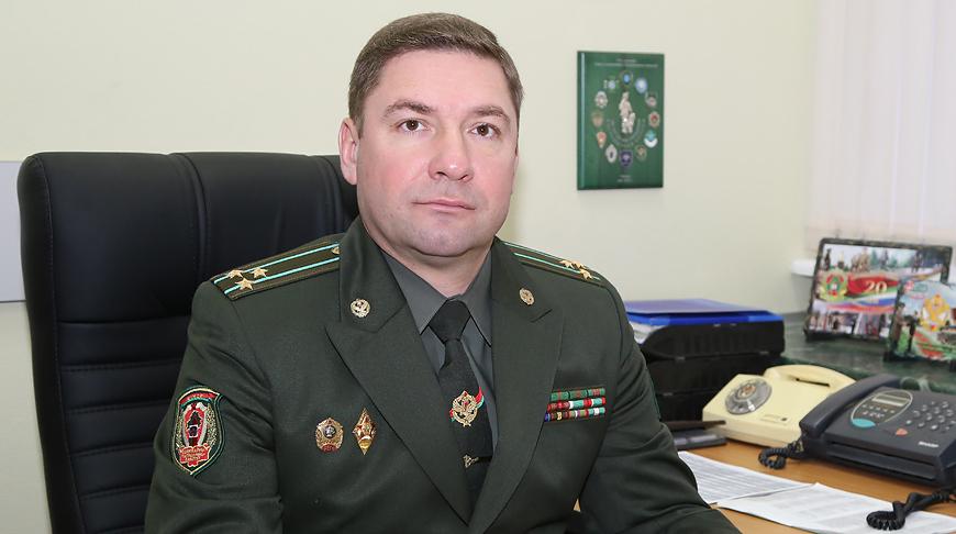 Роман Подлинев. Фото Госпогранкомитета
