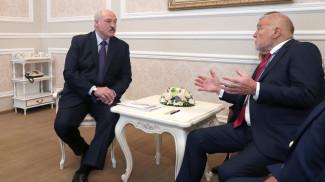 Александр Лукашенко и Степан Месич