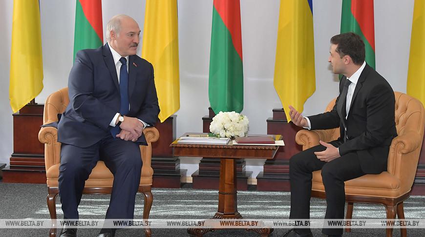 Александр Лукашенко и Владимир Зеленский. Фото из архива
