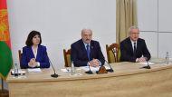 Лукашенко: Беларуси посчастливилось обрести свою независимость мирным путем