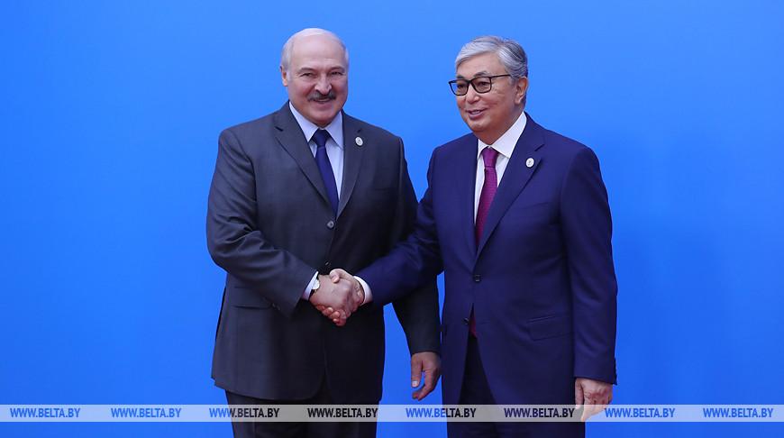 Александр Лукашенко и Касым-Жомарт Токаев. Фото из архива
