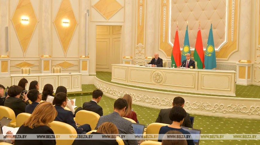 Александр Лукашенко и Касым-Жомарт Токаев