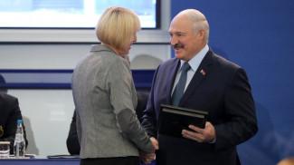 Екатерина Карстен и Александр Лукашенко