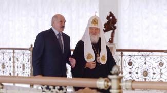 Александр Лукашенко и Патриарх Московский и всея Руси Кирилл. Фото из архива