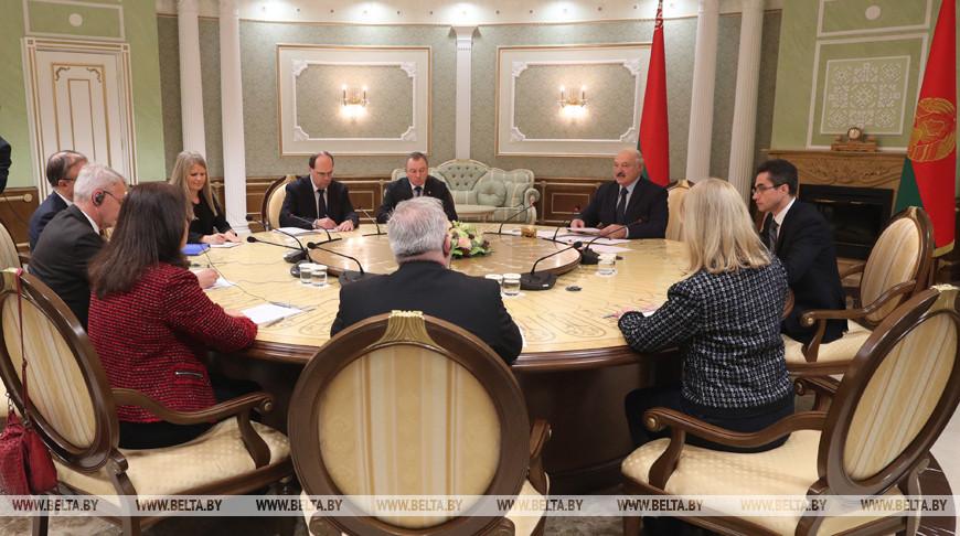 Александр Лукашенко: Беларусь заинтересована в выстраивании добрососедских отношений с ЕС