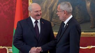 Александр Лукашенко и Александр Ван дер Беллен. Фото из архива