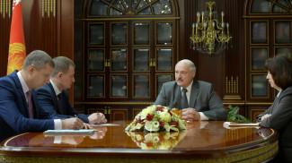 Дмитрий Крутой, Александр Турчин, Александр Лукашенко и Наталья Кочанова