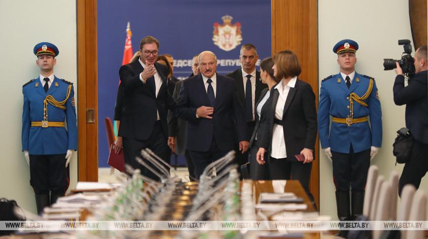Беларусь и Сербия еще повоюют и посражаются за развитие экономических отношений — Лукашенко