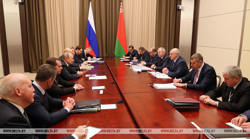 Встреча Лукашенко и Путина в Сочи продолжается уже более 4 часов