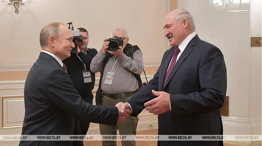 Александр Лукашенко отмечает колоссальный прогресс в развитии сотрудничества с Россией