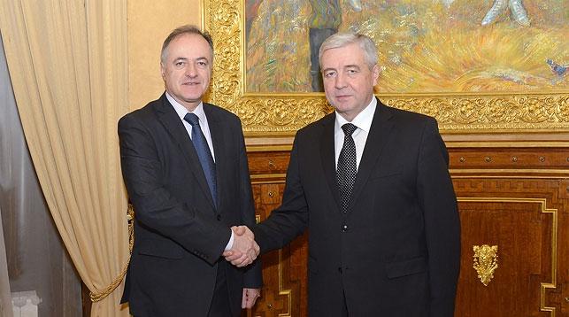 Рамиз Башич и Владимир Семашко. Фото посольства Беларуси в России
