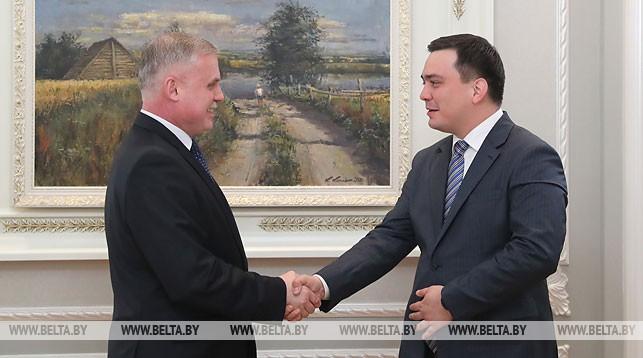 Станислав Зась и Бабур Шаякубов