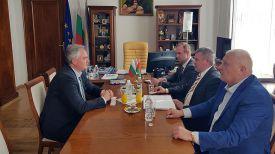 Во время встречи. Фото посольства Беларуси в Болгарии