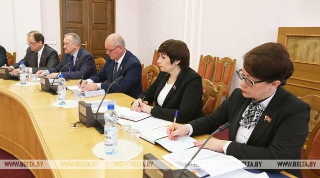 На заседании Совета Палаты представителей