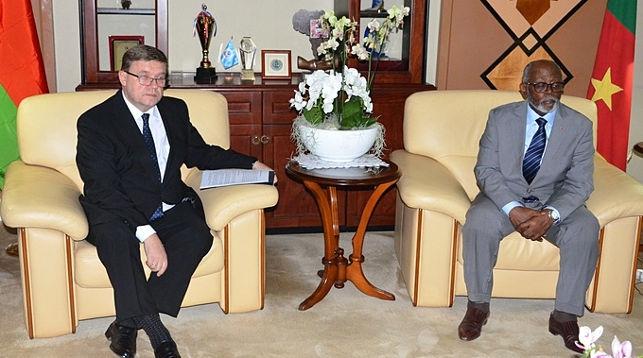 Во время встречи. Фото посольства Беларуси в Нигерии