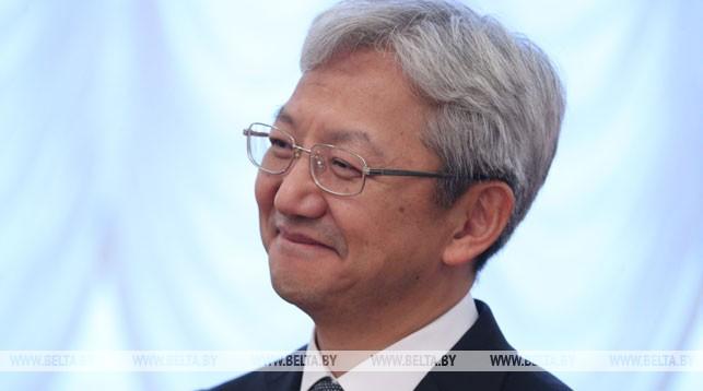 Чрезвычайный и Полномочный Посол Республики Корея в Беларуси Тхэ Чжун Ёль