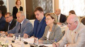 Во время заседания. Фото Совета Республики