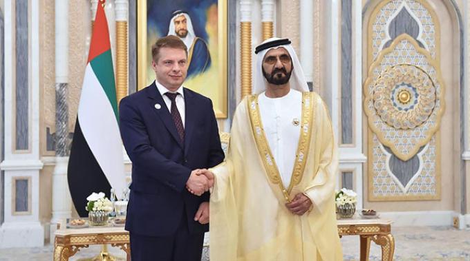 Фото посольствва Беларуси в ОАЭ