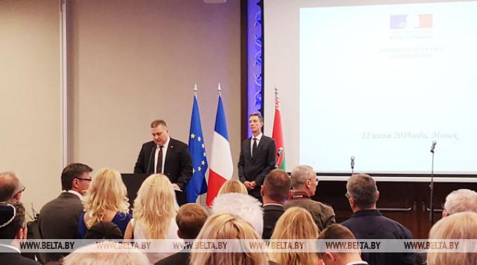 Олег Кравченко во время выступления. Фото Алины Гришкевич