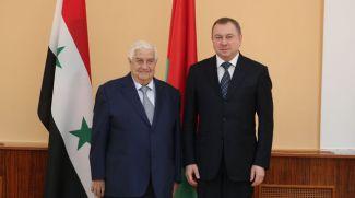 Валид аль-Муаллем и Владимир Макей
