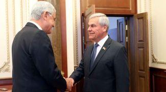 Волкан Бозкыр и Владимир Андрейченко