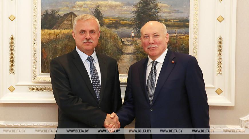 Станислав Зась и Дмитрий Мезенцев