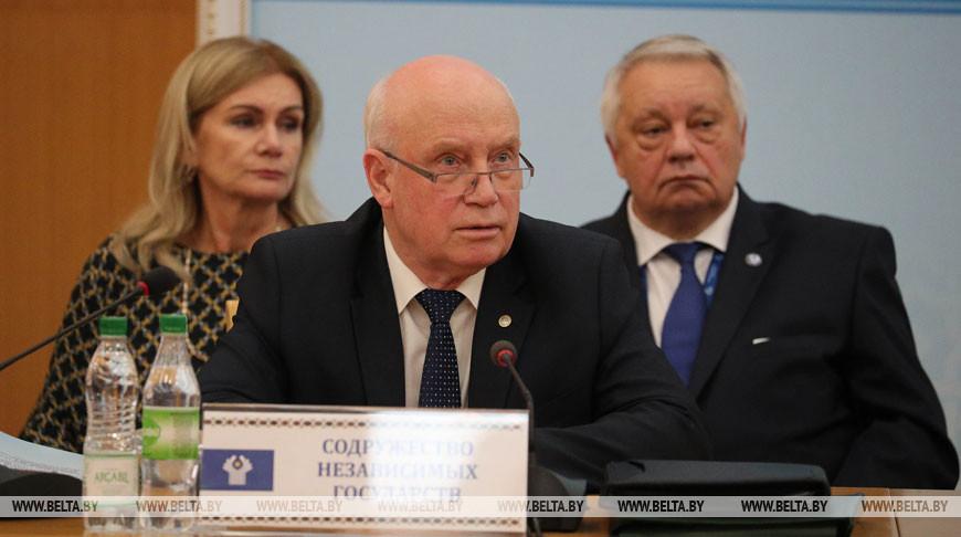 Беларусь в 2020 году будет сопредседательствовать в СНГ, а в 2021-м станет председателем — Лебедев