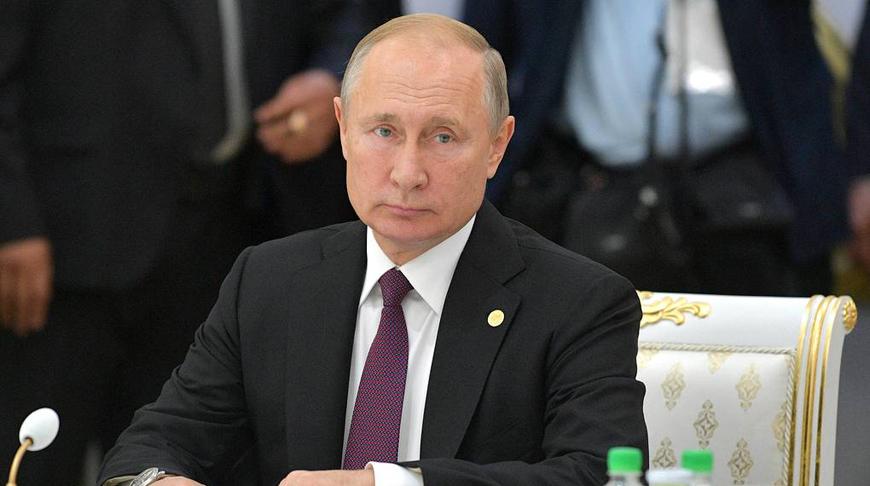 Владимир Путин. Фото пресс-службы президента РФ/ТАСС