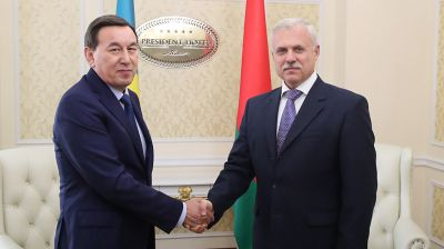 Калмуханбет Касымов и Станислав Зась