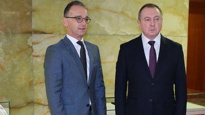 Хайко Маас и Владимир Макей. Фото МИД