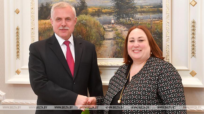 Станислав Зась и Дженифер Мур