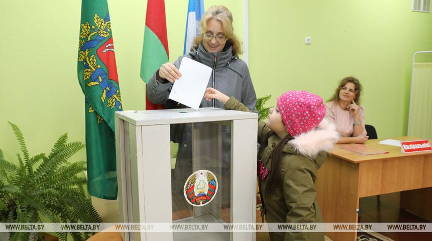 Во время досрочного голосования