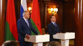 Серей Румас и Дмитрий Медведев