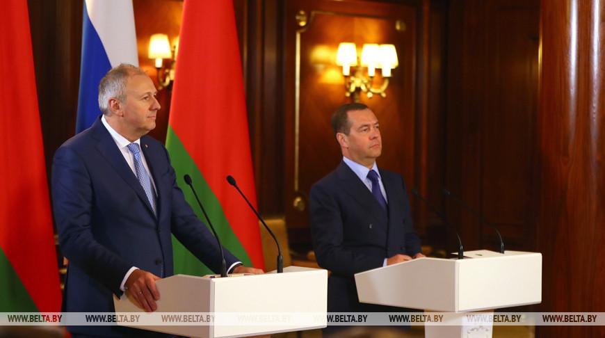Серей Румас и Дмитрий Медведев. Фото из архива