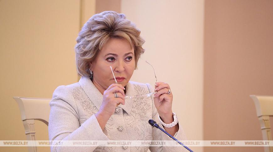Валентина Матвиенко. Фото из архива