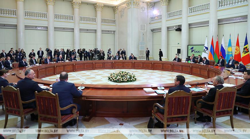 Официально принято решение о председательстве Беларуси в органах ЕАЭС в 2020 году