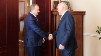Владимир Макей и Дмитрий Мезенцев. Фото МИД